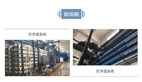 海卓帕斯技术用于电厂反渗透膜案例