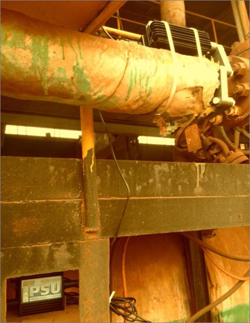 海卓帕斯电子除垢仪安装在蒸汽锅炉系统中