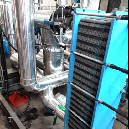 空压机余热回收除垢防垢